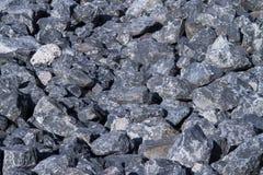 Petite texture de roche bleue Photo libre de droits
