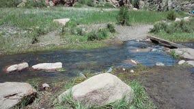 Petite traversée de la rivière Image stock