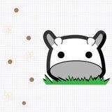 Petite vache mignonne Photographie stock libre de droits