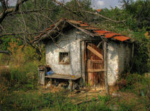 Petite vieille maison Photographie stock libre de droits