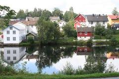Petite ville Photo libre de droits