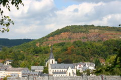 Petite ville Photo stock