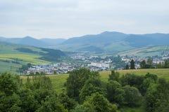 Petite ville Image libre de droits