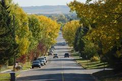 petite ville de route Image libre de droits