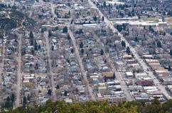 Petite ville du Colorado Image stock