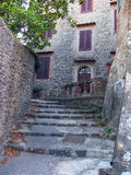 Petite ville italienne romantique Image stock