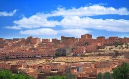 Petite ville marocaine image stock