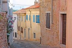 Petite ville Motovun image libre de droits
