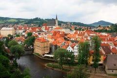 Petite ville. Image libre de droits