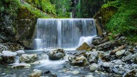 Petite voie d'eau, (Frigourg, la Suisse) Photos libres de droits