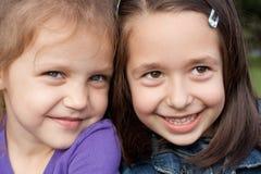 Petites amies Photographie stock libre de droits