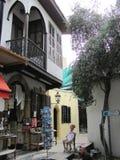 Petites boutiques à Nicosie, Chypre photographie stock