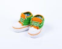 Petites chaussures de chéri Photo stock