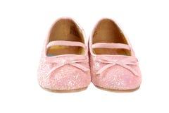 Petites chaussures de princesse Photos stock