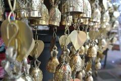 Petites cloches d'or Images libres de droits