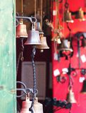 Petites cloches de porte Image stock