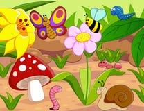 Petites créatures Images libres de droits