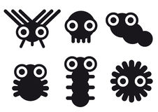 Petites créatures Image stock