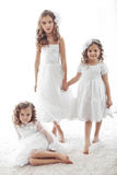 Petites filles Image stock