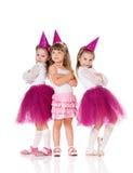 Petites filles photo stock