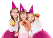 Petites filles Photographie stock