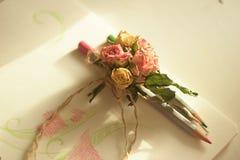 Petites fleurs de tendresse Image libre de droits
