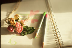 Petites fleurs de tendresse Photographie stock libre de droits