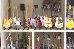Petites guitares Images stock