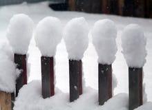 Petites lampes de neige Image stock