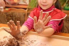 Petites mains Photographie stock libre de droits