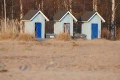 Petites maisons en bois Photographie stock