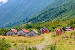 Petites maisons nordiques Image stock