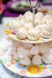 Petites meringues Photographie stock libre de droits
