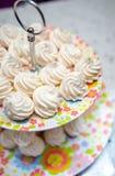 Petites meringues Images stock