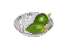 Petites papayes Photo libre de droits