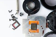 Petites parties digtial d'appareil-photo moderne photo libre de droits