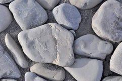 Petites pierres de mer, gravier Photo libre de droits