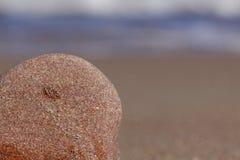 Petites pierres sur la plage Photos libres de droits