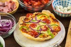 Petites pizzas photos stock