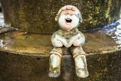 Petites poupées en céramique Photographie stock libre de droits