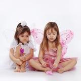Petites princesses photographie stock libre de droits