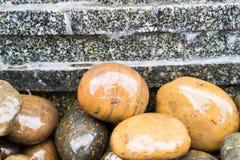 Petites roches sur les planchers Image libre de droits