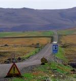 Petites routes et longs chemins Images stock