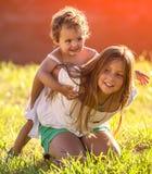 petites soeurs Images stock