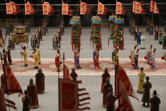 Petites statues chinoises Image stock