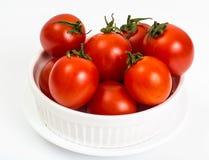 petites tomates rouges Image stock