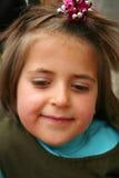 Petites verticales mignonnes d'une fille image libre de droits
