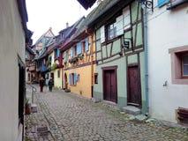 Petites villes décorées pour Noël Strasbourg - Alsace, France Photo libre de droits
