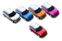 Petites voitures, MINI Images stock