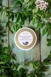 Petitfee Zwarte Parel & het Gouden Flard van het Hydrogeloog royalty-vrije stock afbeeldingen